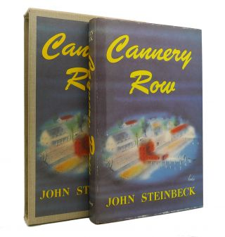 CANNERY ROW The First Edition Library - FEL. John Steinbeck