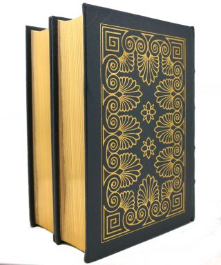THE LIVES OF THE NOBLE, GRECIANS AND ROMANS, VOL. 1 - 2 Easton Press
