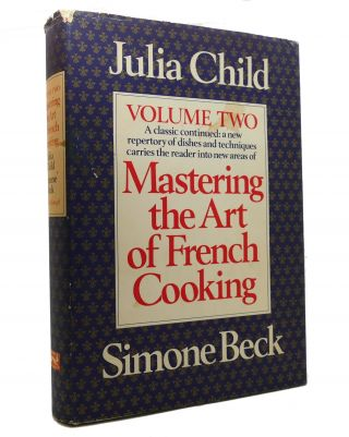 MASTERING THE ART OF FRENCH COOKING Vol 1 & 2. Both SIGNED