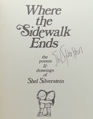 WHERE THE SIDEWALK ENDS Signed