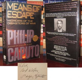 MEANS OF ESCAPE Signed 1st