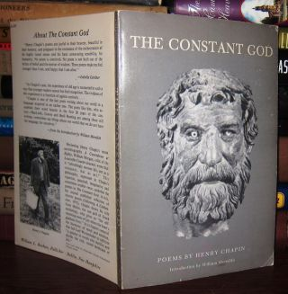 THE CONSTANT GOD Signed 1st. Henry Chapin