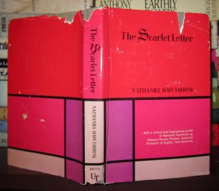 THE SCARLET LETTER, Large Type Edition. Nathaniel Hawthorne
