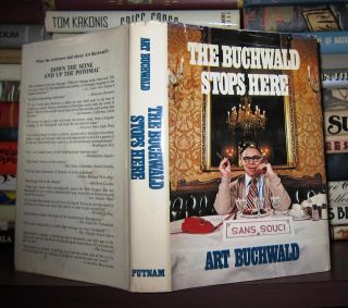 THE BUCHWALD STOPS HERE. Art Buchwald