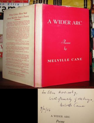 A WIDER ARC [ Signed 1st ] Signed 1st