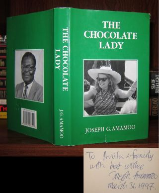 THE CHOCOLATE LADY Signed 1st
