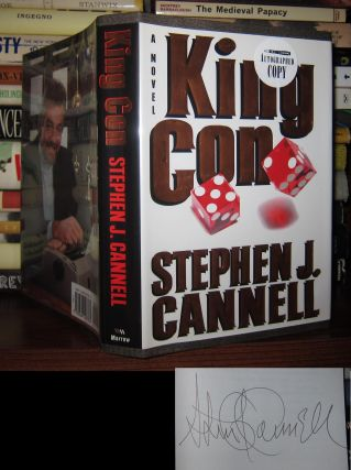 KING CON Signed 1st