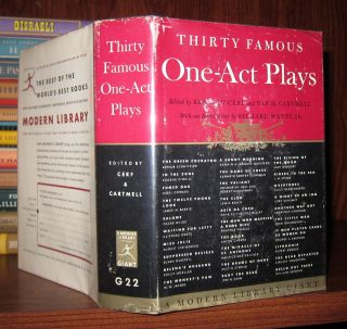 THIRTY FAMOUS ONE ACT PLAYS. Bennett Cerf, Oscar Wilde Van H. Cartmell - August Strindberg, Edna...