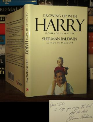 GROWING UP WITH HARRY Signed 1st