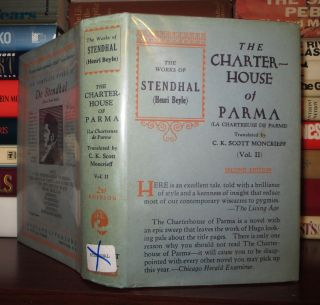 THE CHARTERHOUSE OF PARMA Volume II. Marie-Henri Beyle Stendhal