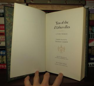 TESS OF THE D'URBERVILLES Franklin Library