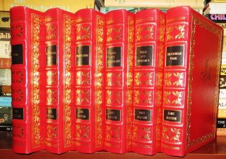 PRIDE AND PREJUDICE; SENSE AND SENSIBILITY; PERSUASION; EMMA; MANSFIELD PARK; NORTHANGER ABBEY Easton Press