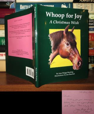 WHOOP FOR JOY Signed 1st
