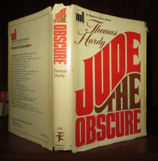 JUDE THE OBSCURE. Thomas Hardy