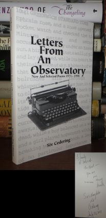 LETTERS FROM AN OBSERVATORY. Siv Cedering