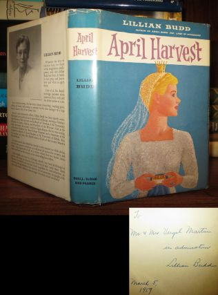 APRIL HARVEST Signed 1st. Lillian Budd