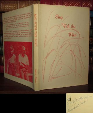 SING WITH THE WIND Signed 1st. Winston Abbott, Bette Eaton Bossen