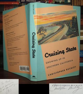 CRUISING STATE Signed 1st. Christopher Buckley