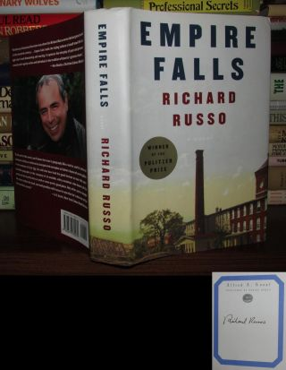 EMPIRE FALLS Signed 1st. Richard Russo