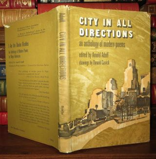CITY IN ALL DIRECTIONS, An Anthology of Modern Poems. Arnold Adoff, T. S. Eliot contributors...