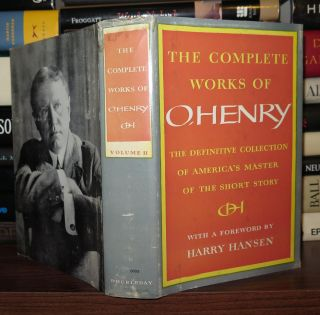 THE COMPLETE WORKS OF O. HENRY Volume II. O. Henry