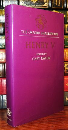 HENRY V. William Shakespeare, Gary Taylor