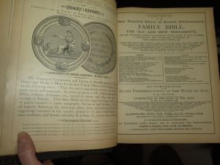 THE SELF-INTERPRETING HOLY BIBLE Containing the Old and New Testaments