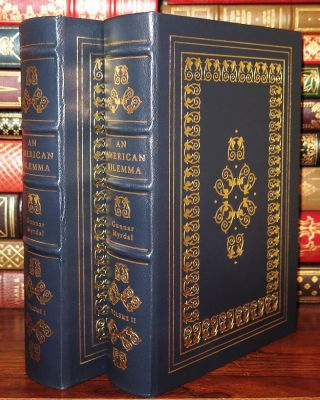AN AMERICAN DILEMMA: Easton Press