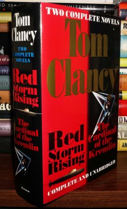 TOM CLANCY Two Complete Novels Red Storm Rising & the Cardinal of the Kremlin. Tom Clancy