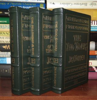 THE FELLOWSHIP OF THE RING, THE TWO TOWERS, THE RETURN OF THE KING Easton Press