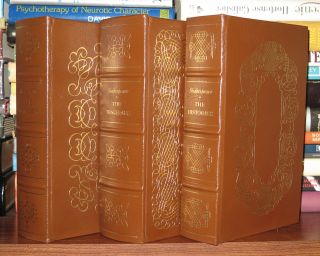 THE TRAGEDIES, THE COMEDIES, THE HISTORIES Easton Press. William Shakespeare