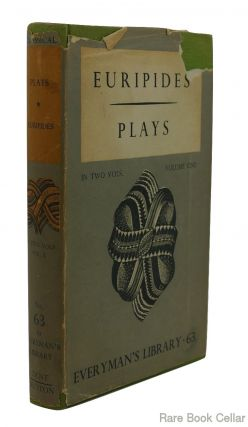 THE PLAYS OF EURIPIDES VOL.1. Euripides