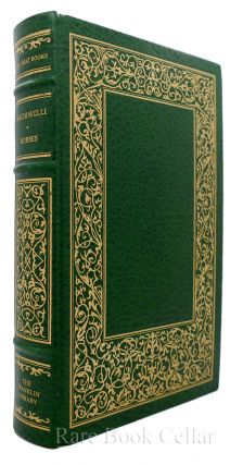 THE PRINCE / LEVIATHAN Franklin Library Great Books of the Western World. Niccolo MacHiavelli,...
