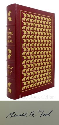 A TIME TO HEAL Signed Easton Press
