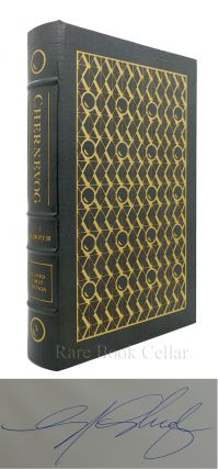 CHERNEVOG Signed Easton Press. C. J. Cherryh