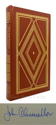 PERIL AND PROMISE A COMMENTARY ON AMERICA Signed Easton Press