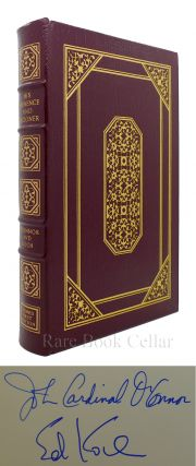 HIS EMINENCE AND HIZZONER A CANDID EXCHANGE Signed Easton Press