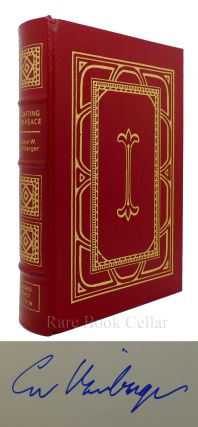 FIGHTING FOR PEACE Signed Easton Press. Caspar Weinberger