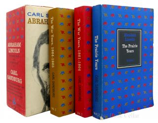 ABRAHAM LINCOLN: THE PRAIRIE YEARS, THE WAR YEARS. 3 VOLUME SET. Carl Sandburg - Abraham Lincoln