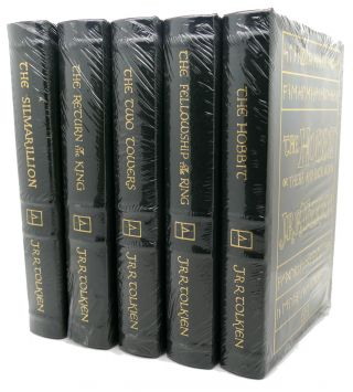 THE HOBBIT, LORD OF THE RINGS THE FELLOWSHIP OF THE RING, THE TWO TOWERS, THE RETURN OF THE KING, SILMARILLION Easton Press