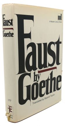 FAUST : A Tragedy