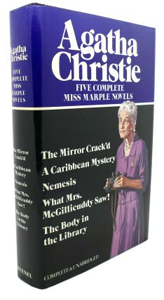 FIVE COMPLETE MISS MARPLE NOVELS : The Mirror Crack'd, a Caribbean Mystery, Nemesis, What Mrs....