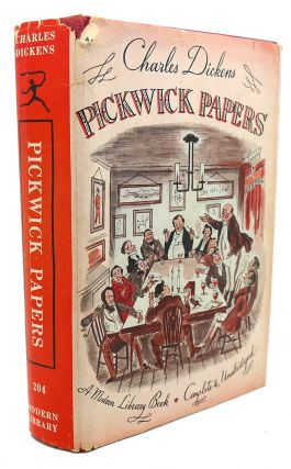 THE PICKWICK CLUB. Charles Dickens