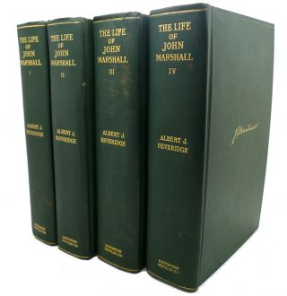 THE LIFE OF JOHN MARSHAL, FOUR VOLUMES :