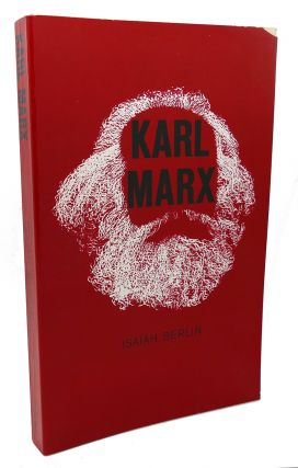 KARL MARX His Life and Environment. With a New Introduction by Robert Heilbroner. Isaiah Berlin...