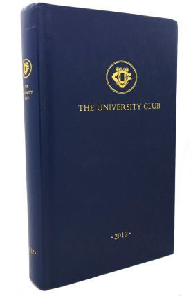 ANNUAL OF UNIVERSITY CLUB, 2012